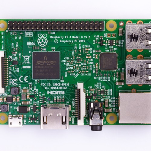 Foto Produk Raspberry Pi 3 dari KlinikRobot