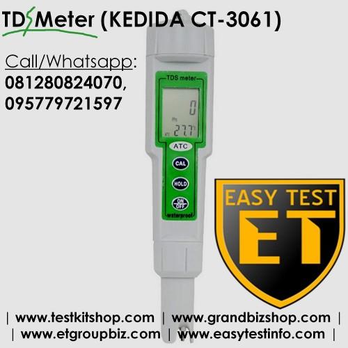 Foto Produk TDS Meter (KEDIDA CT-3061) TerMurah dari Sooper Shop