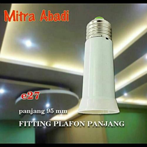 Foto Produk Fitting E27 Sambung Panjang for Downlight dari Mitra Abadi LED