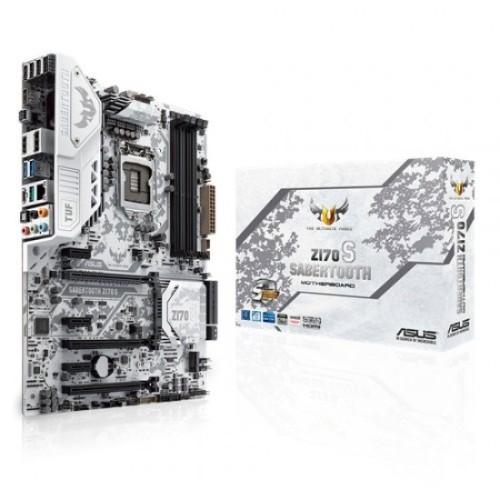 Foto Produk Motherboard Asus Sabertooth Z170 S (Socket 1151) Murah dari Tokobagus Computer