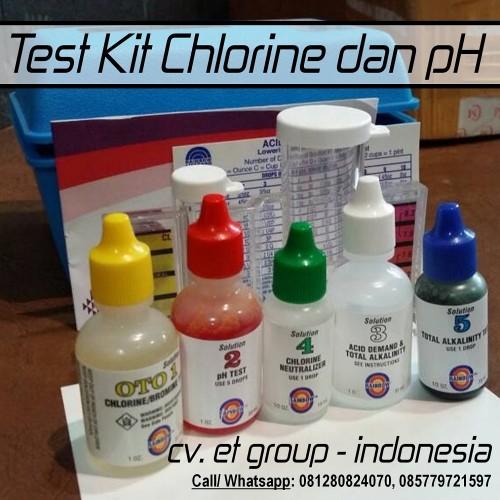 Foto Produk Test Kit Chlorine, Bromine, Alkaliniy, pH (5 In 1) merk PENTAIR dari easytest