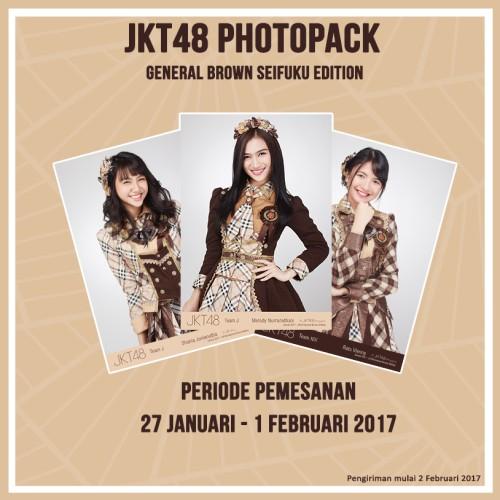 Foto Produk JKT48 Photopack General Brown Seifuku Edition dari JKT48 Official Shop
