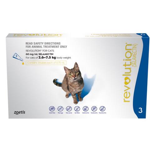 Foto Produk REVOLUTION CAT ADULT/OBAT KUTU KUCING BERAT 2,5KG KEATAS dari Berbagi Cantik