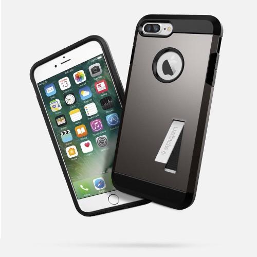 Foto Produk Spigen iPhone 7 Plus Case Tough Armor - Gunmetal dari WantCase Accessories