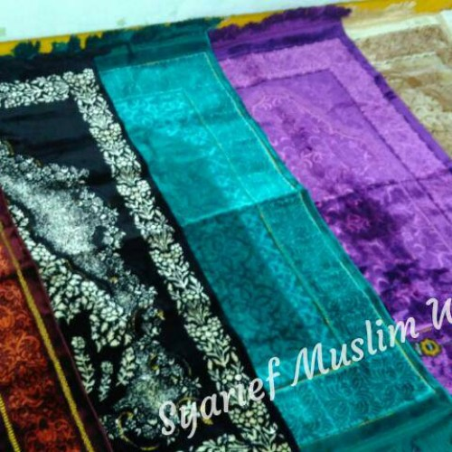 Foto Produk Sajadah Turki Tebal High Quality - Kano Lurex (100% Asli) dari Syarief Muslim Wear