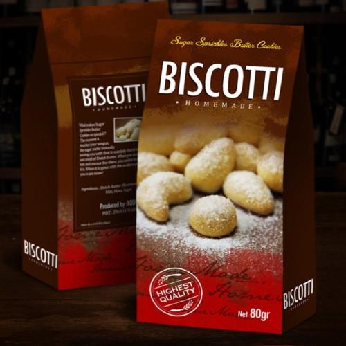 Foto Produk Biscotti Sugar Sprinkle dari HEARTBEAT SNACK BANDUNG