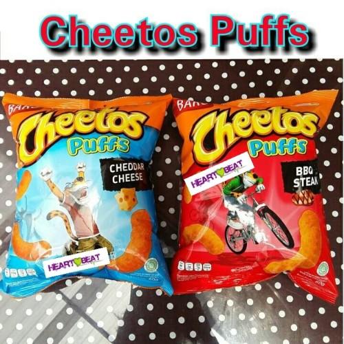 Foto Produk Cheetos Puffs Cheddar Cheese / BBQ Steak dari HEARTBEAT SNACK BANDUNG