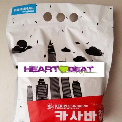 Foto Produk Keripik Singkong Kingkong Korea Original (Small Pack) dari HEARTBEAT SNACK BANDUNG