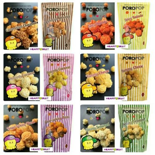Foto Produk POROPOP Corn dari HEARTBEAT SNACK BANDUNG