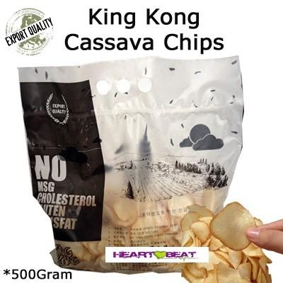 Foto Produk Keripik Singkong Kingkong dari HEARTBEAT SNACK BANDUNG