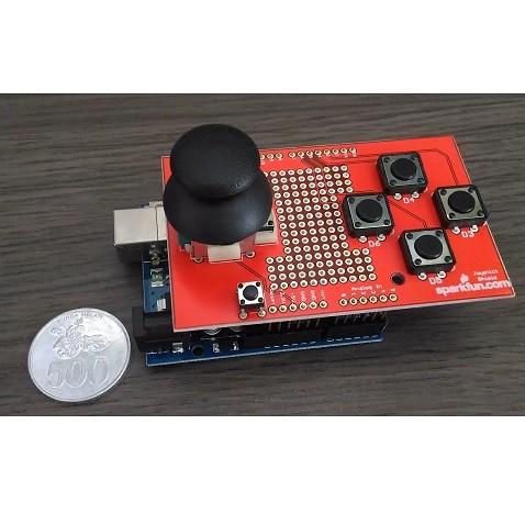 Foto Produk PCB ARDUINO JOYSTICK BOARD SHIELD KIT + Package No. 1 (BELUM DISOLDER) dari KlinikRobot
