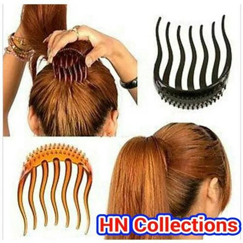Foto Produk Hair Clip Bumpits Ponytail Comb / Sisir Jepit Rambut dari HN Collections