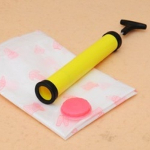 Foto Produk Pompa Kasur Angin Manual Pompa Balon Vacuum Bag Pompa Tangan Mobil dari TRAFELOKA