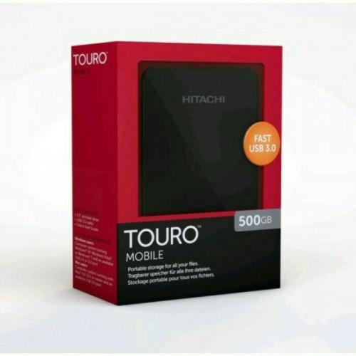 Foto Produk HDD Touro Hitachi 500GB, ORIGINAL !!! USB 3.0, FULL GAMES PS3 dari Jo'Shop