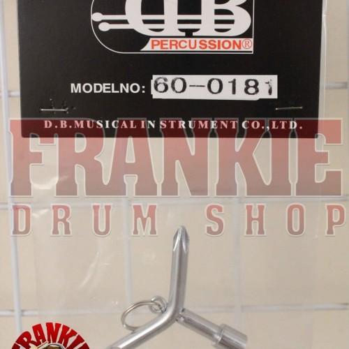 Foto Produk DB K-03 - DrumKey 3 Sides With Key Ring (60-0181) dari FrankieDrumShop
