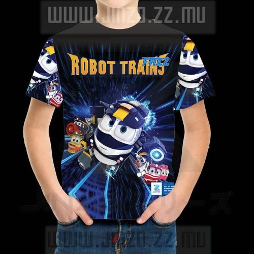 Foto Produk Kaos Anak Robot Trains 1 dari Jinzo Series