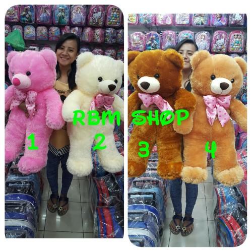 Foto Produk boneka teddy bear 75 cm / beruang jumbo /teddy bear besar dari rbmshop