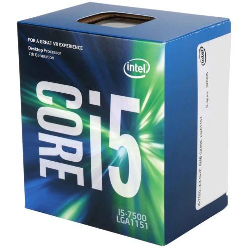 Foto Produk Intel Core i5-7500 BOX 3.4Ghz - KabyLake Socket 1151 dari toko expert komputer