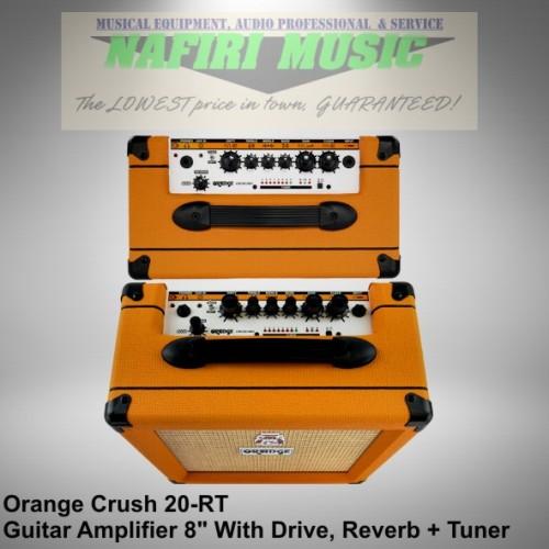 Foto Produk Amplifier Gitar Orange Crush 20RT / Crush20RT / Crush-20RT CR20RT dari Nafiri Music Store