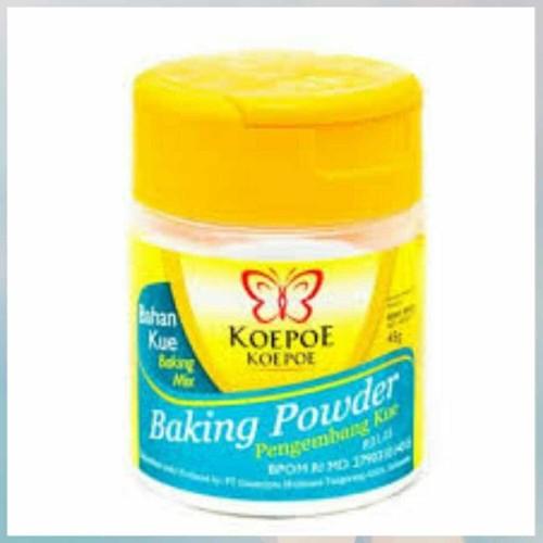 Foto Produk Baking Powder Koepoe Koepoe 45gram dari Just Me Shop