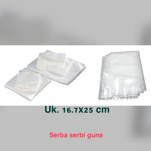 Foto Produk Plastik vacuum 16,7x25 cm (100 pc) dari Serba Serbi Guna