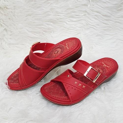 Foto Produk Homyped Leona B45 Merah Sandal Wanita Sz 36 37 38 39 - 39 dari Adi Jaya Perkasa