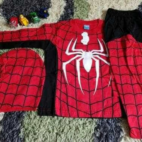 Foto Produk Baju Spiderman/baju anak/baju karakter superhero/baju anak laki - 2-3 tahun dari AKHSHA SHOP