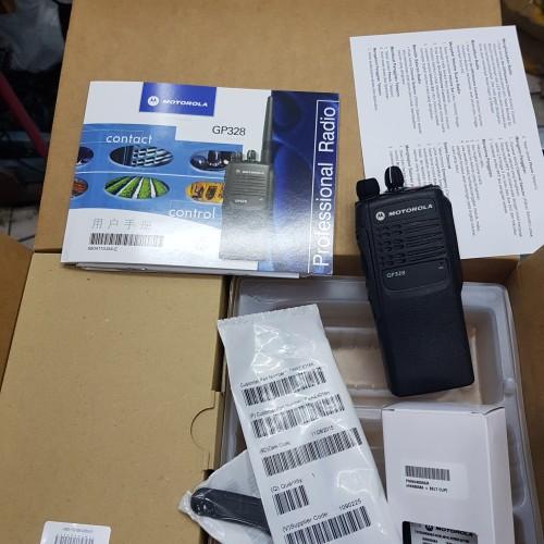 Foto Produk JUAL HT MOTOROLA GP-328 VHF 136-174mHz dari toko arfica com