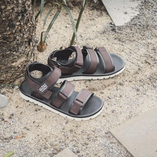 Foto Produk SANDAL PRIA NAVARA XAVIER BROWN 100 ORIGINAL SENDAL PRIA dari Leather Shoes ID
