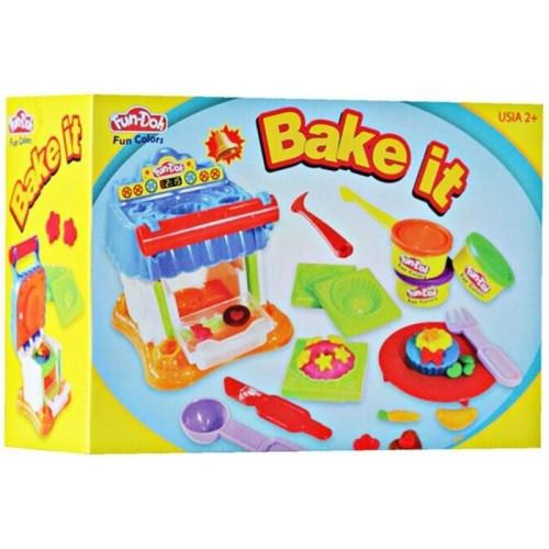 Foto Produk Mainan Lilin Fun-Doh Bake it Oven Kue dari istanatoys.net