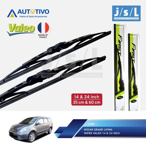Foto Produk Nissan Grand Livina Wiper Mobil Valeo (2 Pcs Kiri Kanan) dari Autotivo