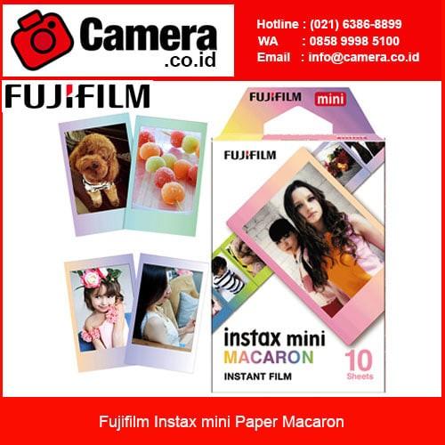 Foto Produk Fujifilm Instax mini Paper Macaron / Paper Fuji Instax dari camera.co.id