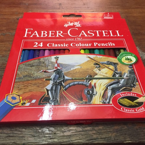Foto Produk Pensil Warna Faber-Castell Classic 24 Warna dari Sinar Makmur ATK