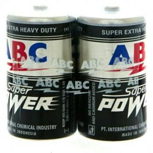 Foto Produk Batere ABC Super power size jumbo type D untuk baterai Pompa galon dari Kemanggisan Store
