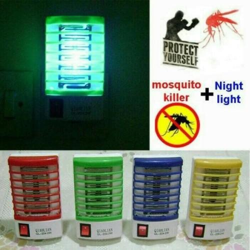 Foto Produk Perangkap antik nyamuk mini lampu LED mosquito trap lamp dari Panji Packing