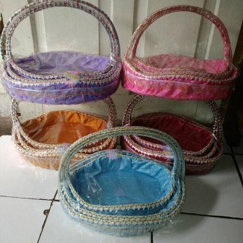 Foto Produk Souvenir keranjang parcel hantaran seserahan pengantin murah dari azizahsouvenirjakarta