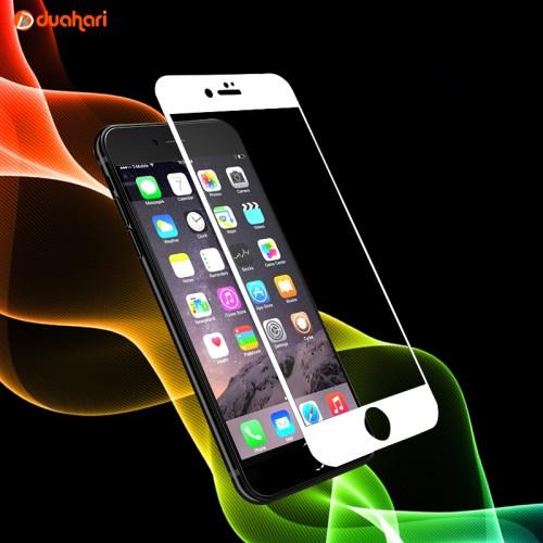 Foto Produk Tempered Glass Full Cover APPLE IPHONE 8 Screen Protector - Putih dari Dua Hari Jakarta