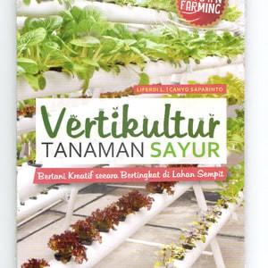 Foto Produk Buku: Vertikultur Tanaman Sayur dari Taman Lestari