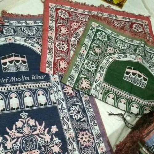 Foto Produk Sajadah Katun Turki - Size Medium | Oleh-oleh Haji/Umrah dari Syarief Muslim Wear