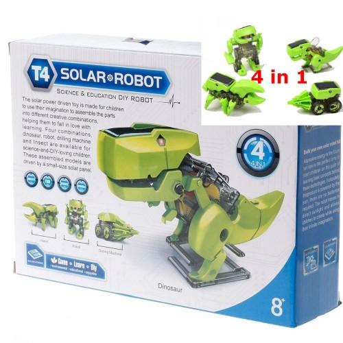 Foto Produk 4 in 1 Transforming Solar Robot Science Education DIY Toys Kids dari belimasbro(dot)com