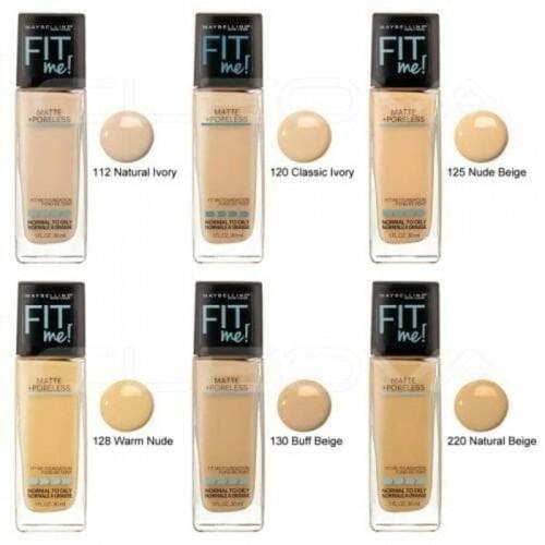 Foto Produk MAYBELLINE FIT ME MATTE +PORELESS FOUNDATION 30 ML dari Shine Beauty Skin
