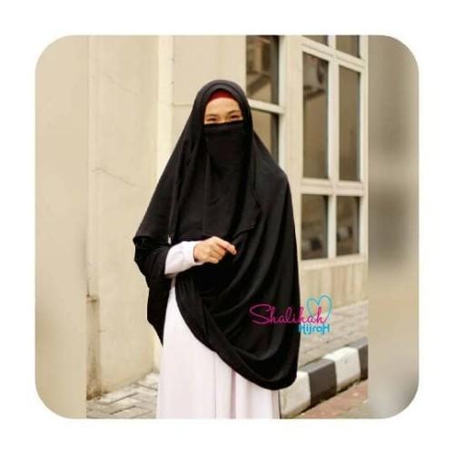 Jual Pashmina Instant Syar I Free Cadar By Shalihah Hijrah Size Xl Jakarta Selatan Mlj Fashion Syar I Tokopedia