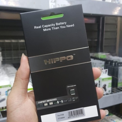 Foto Produk Hippo baterai iphone 6S 1715 MAH Original Premium Cell Quality dari Hippo Power Bank