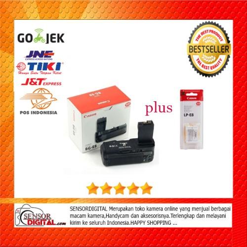 Foto Produk Termurah - Canon Battery Grip BG-E8 Plus battery LP-E8 dari sensordigital