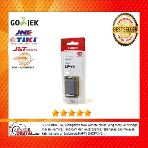 Foto Produk Canon Battery LP-E6 For eos 60d , 70d , 7d , 6d , 5d dari sensordigital