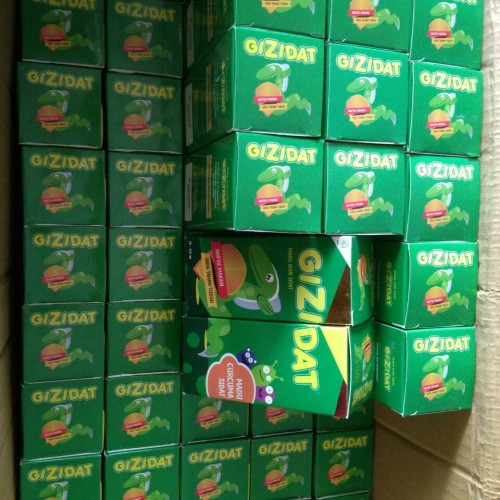Foto Produk Madu Penambah nafsu Makan Anak Gizidat 130 ml dari Gizidat Palembang
