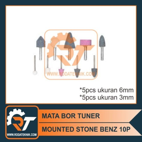 Foto Produk Mounted Stone 10 Pcs dari Roda Teknik