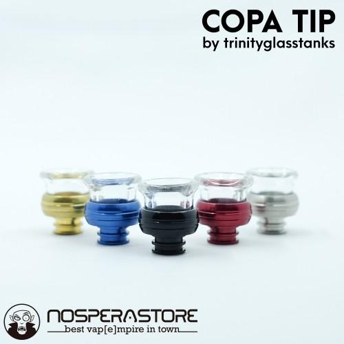 Foto Produk COPA TIP by Trinity Glass Tanks - Drip Tip Authentic dari nosperaStoRe