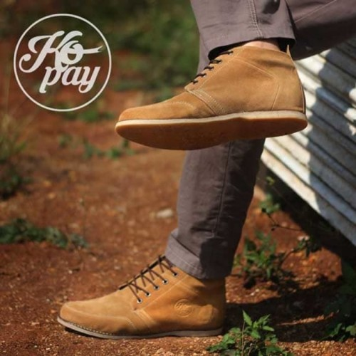 Foto Produk sepatu brodo pria TERMURAH      Sepatu pria kopay TORAJA      original dari Bandungpro Store