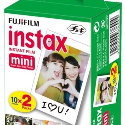 Foto Produk Isi Refill Fujifilm Instax Mini Instant Color Film isi 20 dari Ahin Stationary